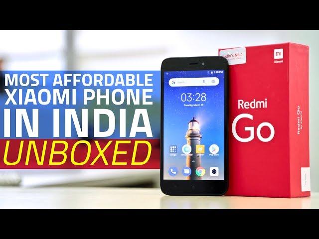 Redmi Go vs Redmi 6A: Comparing Xiaomi's Most Affordable