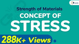 Concept of Stress - Stress and Strain - Strength of Materials