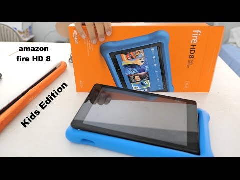 Fire HD 8 Kids Edition Tablet   Unboxing and Set Up