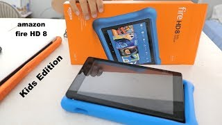 Fire HD 8 Kids Edition Tablet | Unboxing and Set Up