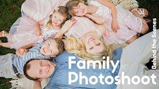 Family Photo Session In Spring, Posing Ideas, Sacramento Photographer