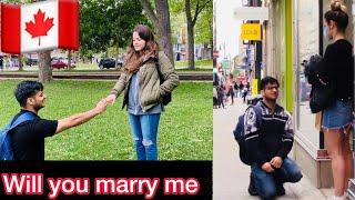 Indian Student proposing Russian Girls in Canada | Shovit Rajput | 2020 |