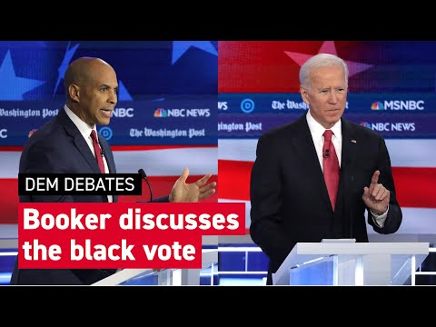 Booker talks black vote and goes after Biden: 'I thought you might have been high'