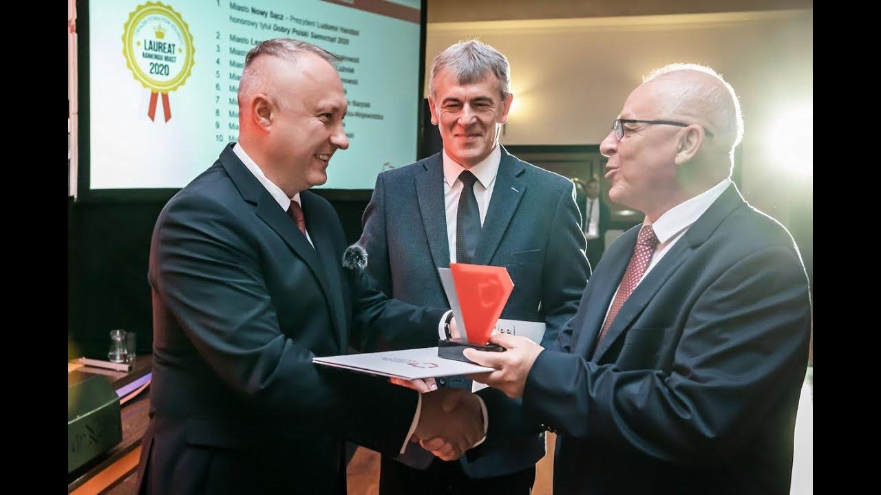 Nowy Sącz - Dobry Polski Samorząd 2020 w kategorii miasta na prawach powiatu
