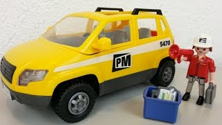 Playmobil Bauleiterfahrzeug 5470 auspacken seratus1 unboxing Baustelle