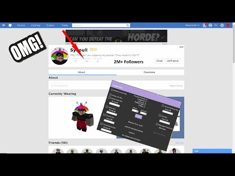 ROBLOX BOTS HACK : FOLLOWERS, FRIEND REQUESTS, BUY ASSETS, JOIN