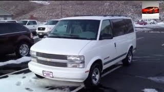 1996 Chevrolet Astro Van LS AWD Full Tour Start Up Exhaust Interior