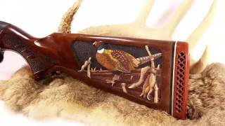 Pheasant Gunstock Carving By Roger F Wolford