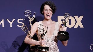 video: Emmys 2019: Fleabag's Phoebe Waller-Bridge triumphs while Jodie Comer bags award for Killing Eve