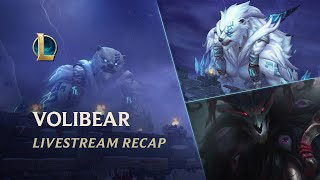 When the thunder roars, you'll know his name. Witness Volibear's return in a recap of the livestream that premiered on May 8, 2020.  League of Legends Sign Up & Download https://signup.leagueoflegends.com/