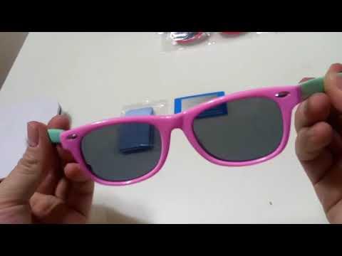 Óculos de sol Infantil Polarizado Ultra-flexível – Cute Zone dcd907fdd9