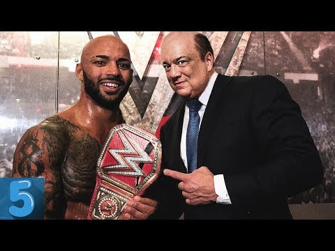 5 RAW Superstars PAUL HEYMAN Is Set To PUSH