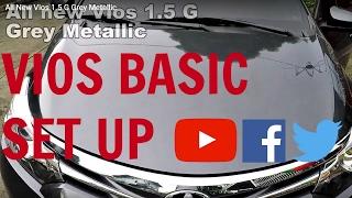 All New Vios 1.5 G Grey Metallic