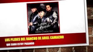 Los Plebes Del Rancho De Ariel Camacho - Que Caro Estoy Pagando (NUEVO SENCILLO) + Link de Descarga