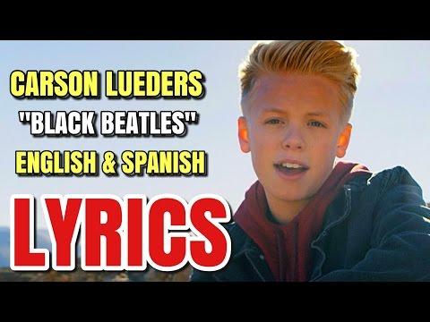 Rae Sremmurd - Black Beatles cover by Carson Lueders (Lyrics in English & Spanish) (Español)