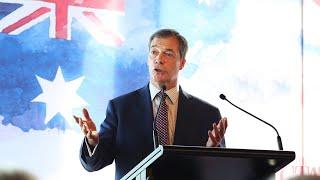 'How dare' Albanese criticise Farage