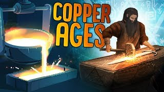 Humanity Hits The Copper Ages - Farming Expansion And Metalworking - Dawn of Man Gameplay