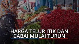 Harga Kebutuhan Pokok di Padang Hari Ini, Harga Telur Itik dan Cabai Mulai Turun