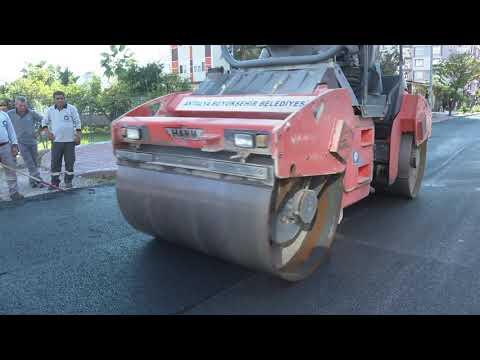 32. Cadde'nin  asfaltı yenilendi