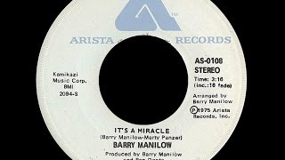 Barry Manilow ~ It's A Miracle 1975 Disco Purrfection Version
