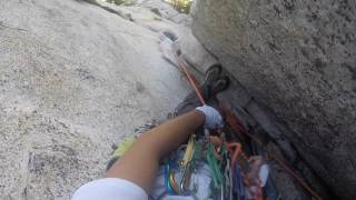 OPEN BOOK 5.9 Tahquitz Rock