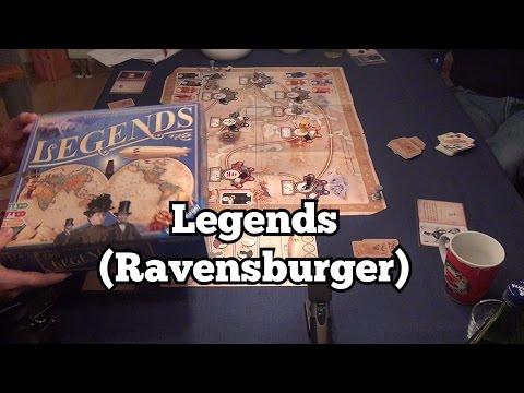 Test: Legends (Ravensburger): Rezension und Beispielrunde von Spiele-Podcast.de