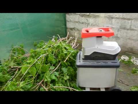 La biotrituradora - Mi máquina favorita para usar en el jardín