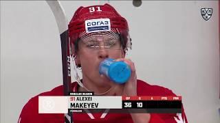 Makeyev scores off Semin feed