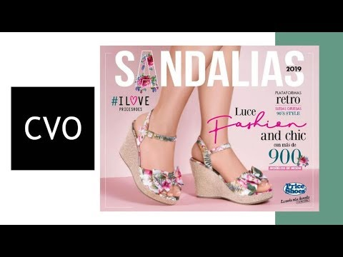 Catálogo Price Shoes SANDALIAS 2019