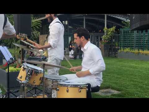 Drum Solo with Tipsy Oxcart at the New York Botanical Gardens