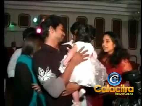 Ajith Shalini & Anoushka at a Birthday Party
