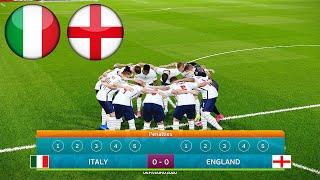 ITALY vs ENGLAND – Penalty Shootout – Final EURO 2020 HD – PES 2021