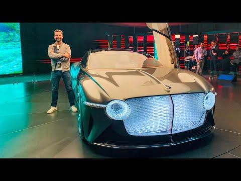 NEW Bentley EXP 100 GT - First Look!