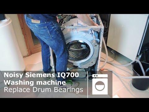 Noisy Siemens IQ700 washing machine Replace Drum Bearings