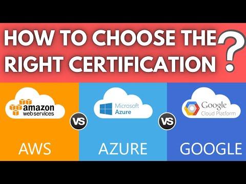 AWS vs AZURE vs GOOGLE CLOUD | 2021 | How to Choose the ...