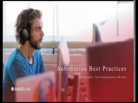 Automation Best Practices Related YouTube Video
