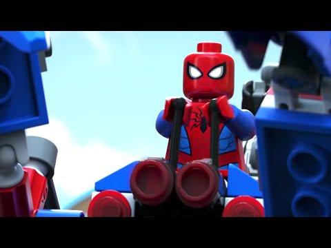 Vidéo LEGO Marvel Super Heroes 76114 : Le véhicule araignée de Spider-Man