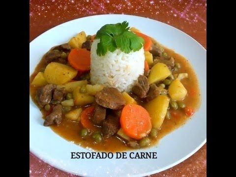 RECETA: ESTOFADO DE CARNE CON ARROZ - Silvana Cocina y Manualidades