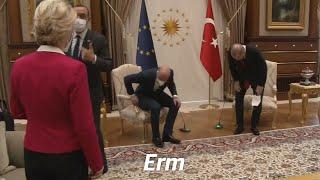 video: Ursula von der Leyen suggests Turkey was sexist for failing to give her a seat at meeting with Erdogan