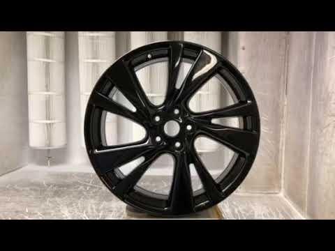 Infiniti JX35 QX60 wheel in gloss black PVD