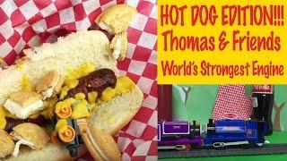 Hot Dog Edition - Thomas & Friends World's Strongest Engine Trackmaster Trains