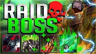 INSANE SUSTAIN!! WHO CAN STOP RAID BOSS DARIUS?! Darius Top Gameplay - League of Legends