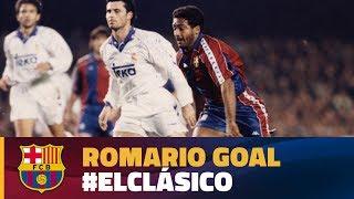 Best goal   El Clásico 1994   Romario
