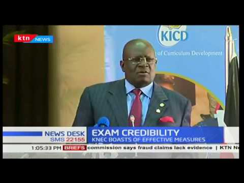 KNEC boss, Prof. George Magoha explains measures taken to ensure KCPE exams credibility