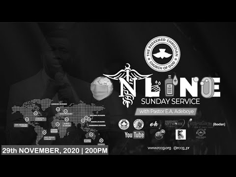 RCCG Sunday Service 29th November 2020