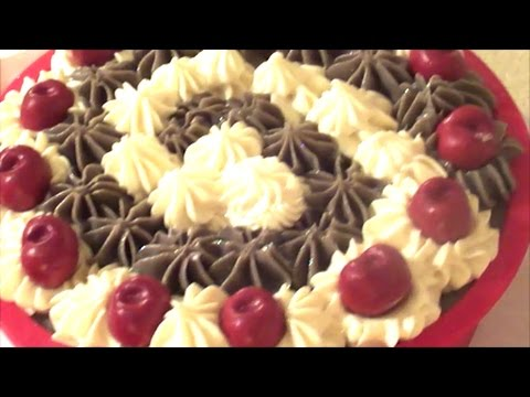 Making and Cutting Chocolate Fudge Soap Cake ~ Cold Process Soap