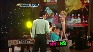 【TVPP】Hyoyeon(SNSD) - Can't Fight The Moonlight [Cha-Cha] @ Dancing With The Stars