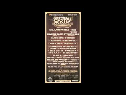 Official Rock the Bells 2011 Mix by DJ Rocky Rock & LD