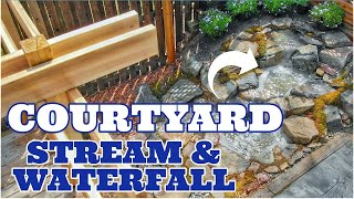 PATIO FALLS | Small Space Waterfall