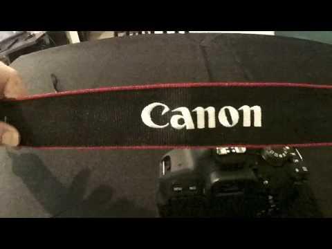 [TUTO] : Comment mettre la sangle de votre appareil photo Canon DSLR ?